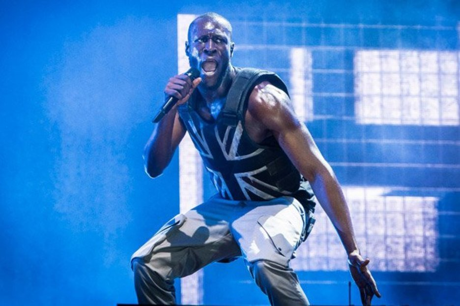 Stormzy makes powerful statement as he hits Glastonbury stage in stab vest