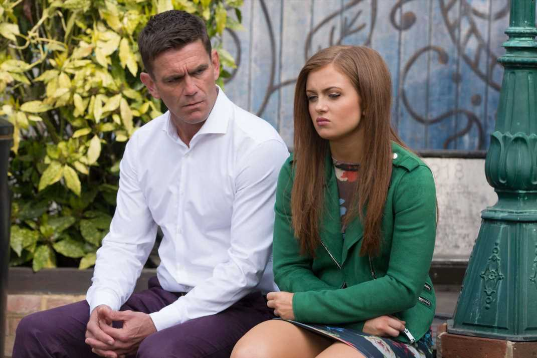 EastEnders spoilers: Tiffany Butcher and Jack Branning come to blows over Fraser as she urges him to back off but he fails to listen