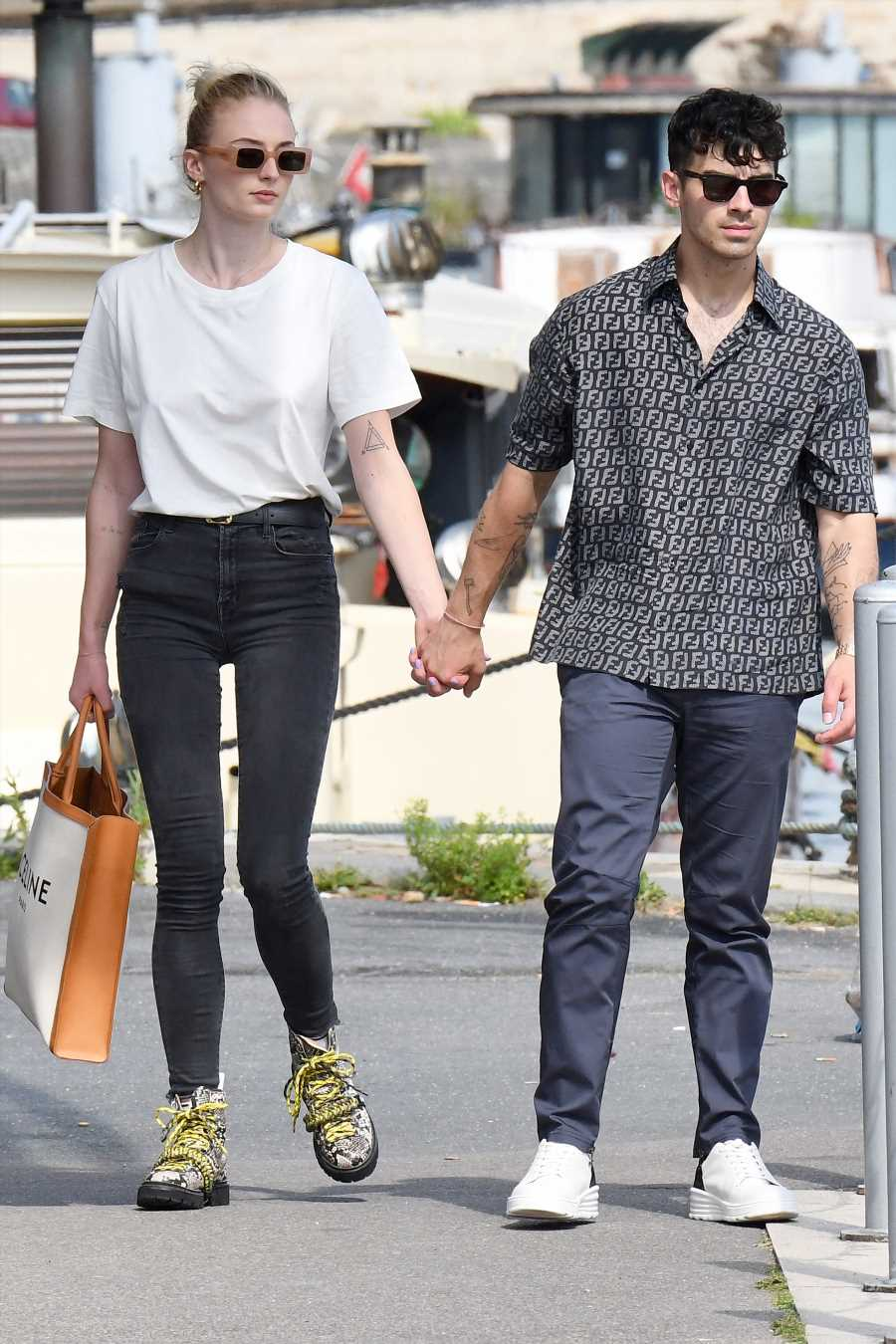 Joe Jonas and Sophie Turner Throw a Pre-Ceremony Pool Party at Their Wedding Chateau in France
