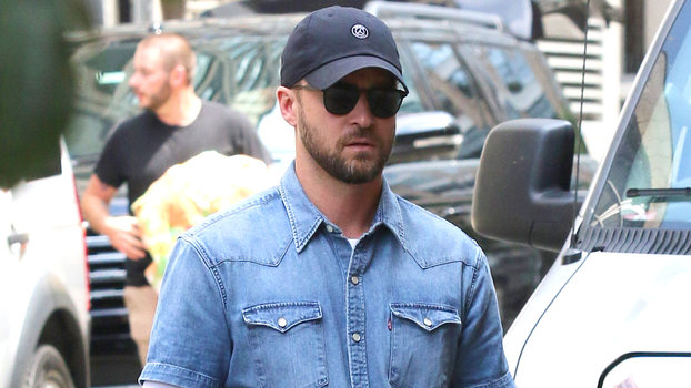 Justin Timberlake Revamped His and Britney Spears's Iconic Double Denim Look
