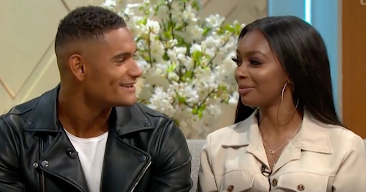 Love Island's Jourdan confronts cringing Danny about relationship live on air