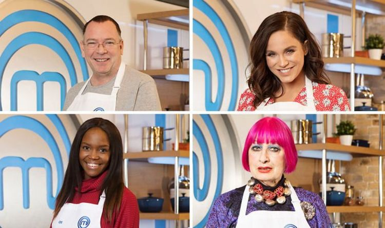 Celebrity MasterChef 2019 contestants: Who is on Celebrity MasterChef this year?