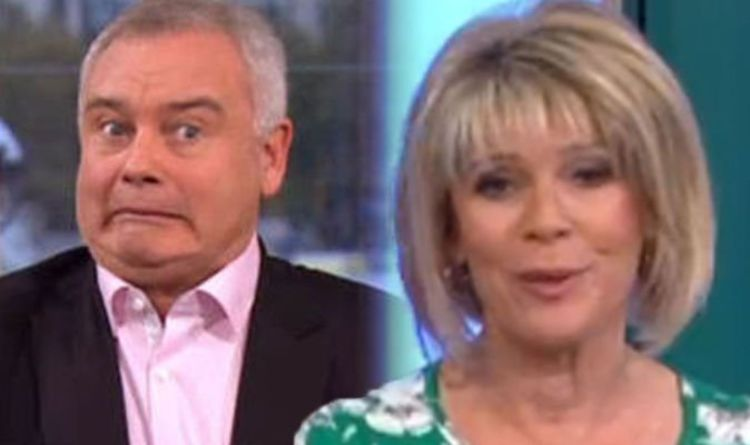 ITV This Morning: 'He was so hot' Ruth Langsford in saucy admission over Eamonn Holmes