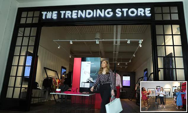 The first AI powered trending store opens in London