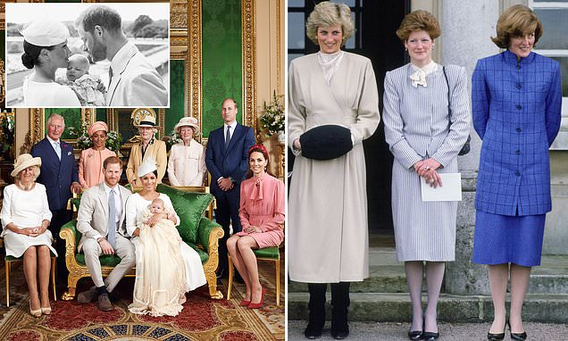 Harry's touching tribute to his mother in official christening photos