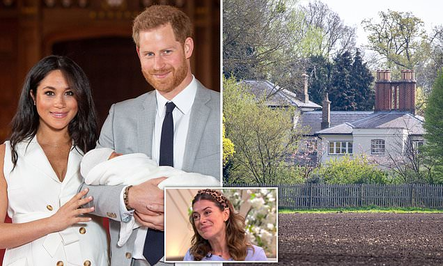 Meghan and Harry turned Frogmore Cottage into 'a fortress'