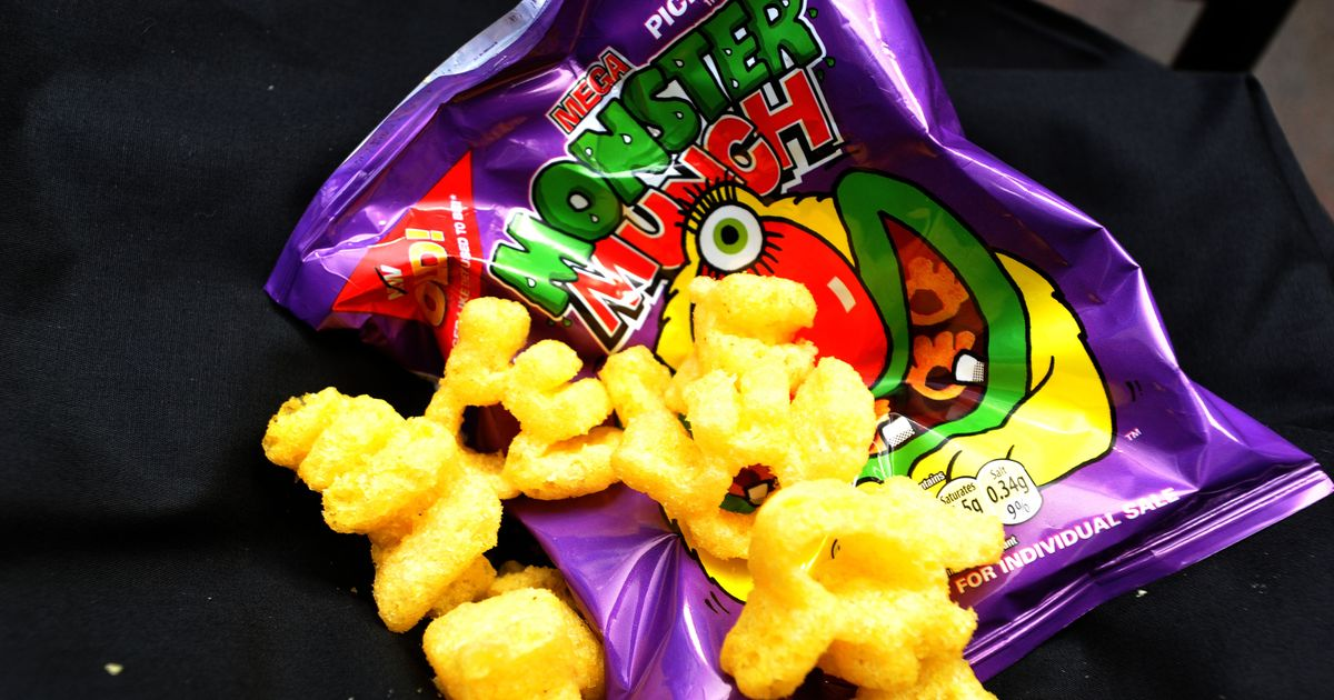 Man spots something odd about Monster Munch crisps – and reignites shape debate