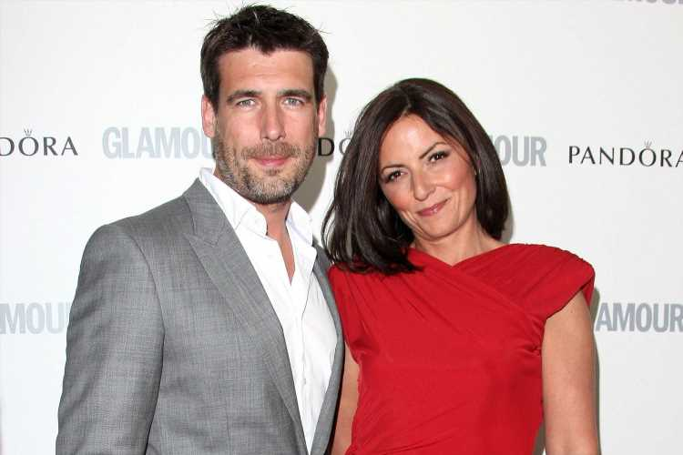 Who is Davina McCall's ex-husband Matthew Robertson and when did they get married?