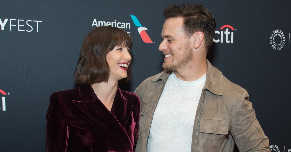 Outlander's Sam Heughan and Caitriona Balfe Have the Cutest Offscreen Friendship