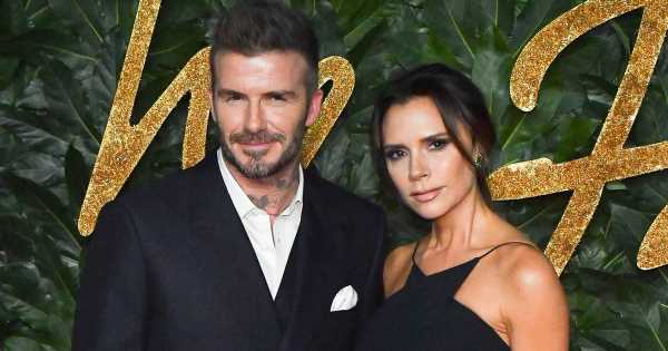 35 Sweet Pictures of David and Victoria Beckham's Very Glamorous Love