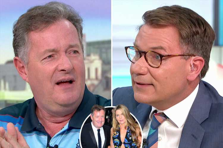 Piers Morgan 'furious' as Richard Arnold reveals that he's been texting GMB host's wife behind his back