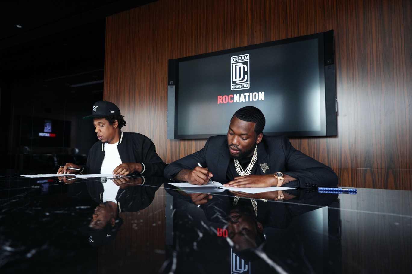 'The Time Is Now': Jay-Z and Meek Mill Unveil New Roc Nation Record Label