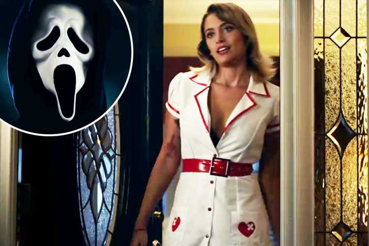 Scream Resurrection trailer sees Paris Jackson meet Ghostface in sexy PVC nurse outfit as fans gear up for TV show reboot