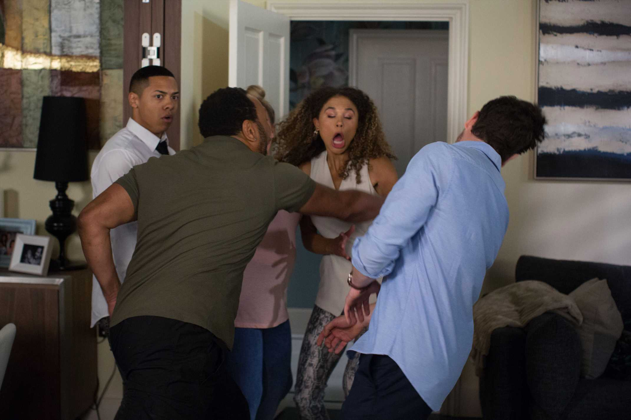 EastEnders spoilers: Furious Mitch punches Gray in the face after Keegan reveals he's quitting school