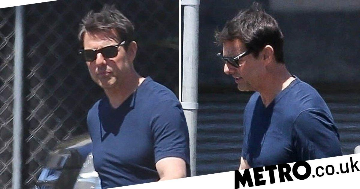 Tom Cruise looks pumped in first appearance since Justin Bieber 'agreed to fight