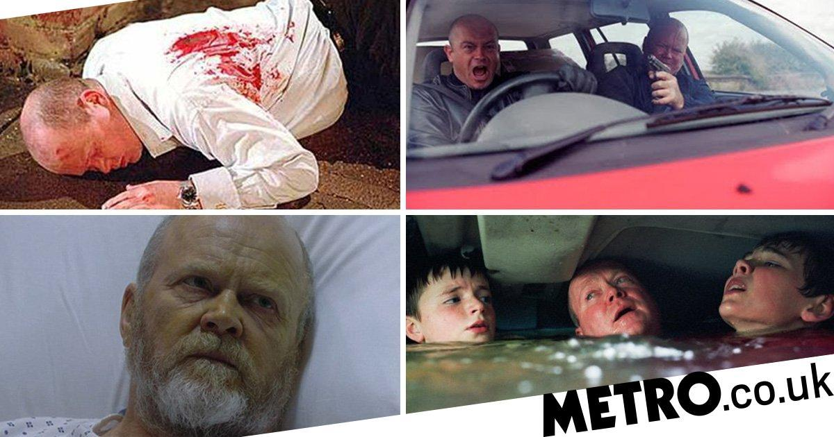 14 of Phil Mitchell's most death defying moments in EastEnders