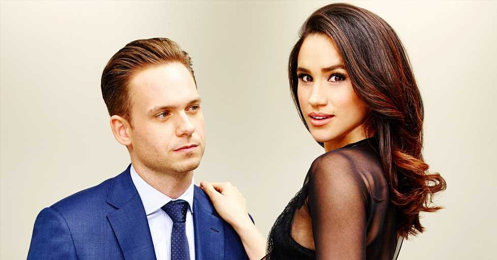 Patrick J. Adams Explains How He'll Return to 'Suits' Without Duchess Meghan