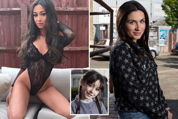 Ex EastEnders star Molly Conlin 'very upset' as she is brutally replaced as Dot Branning's granddaughter Dotty