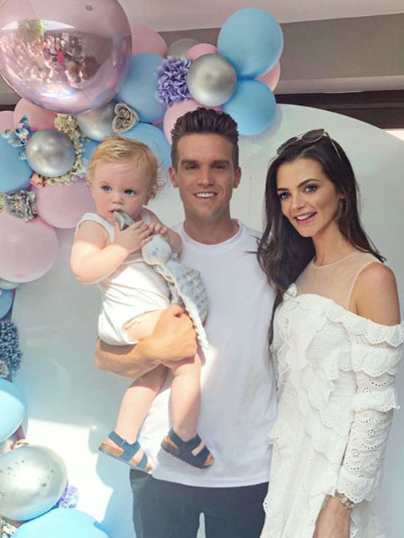 Gaz Beadle's son rushed to hospital during girlfriend's gender reveal