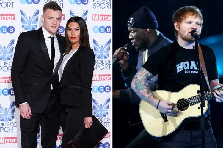 Leicester City striker Jamie Vardy and wife Rebekah lose bid to trademark phrase 'Chat s**t, get banged' after it appeared on Ed Sheeran song – The Sun