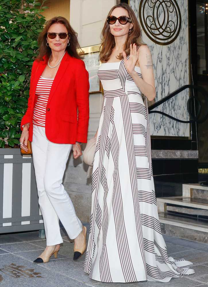Inside Angelina Jolie's Paris Trip with Godmother Jacqueline Bisset: 'They're Very Close'