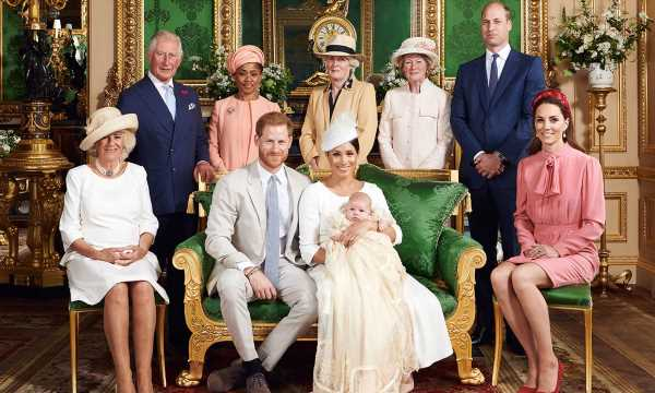 The hidden detail you may have missed in Archie's official christening photos