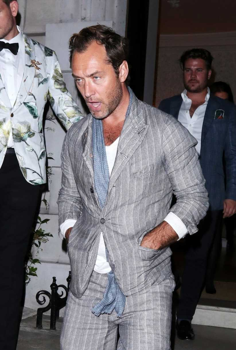 Jude Law looks bleary-eyed while out and more star snaps