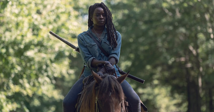 Danai Gurira Talks 'Walking Dead' Exit, as Scott Gimple Teases 'We're Not Completely Done with Her'