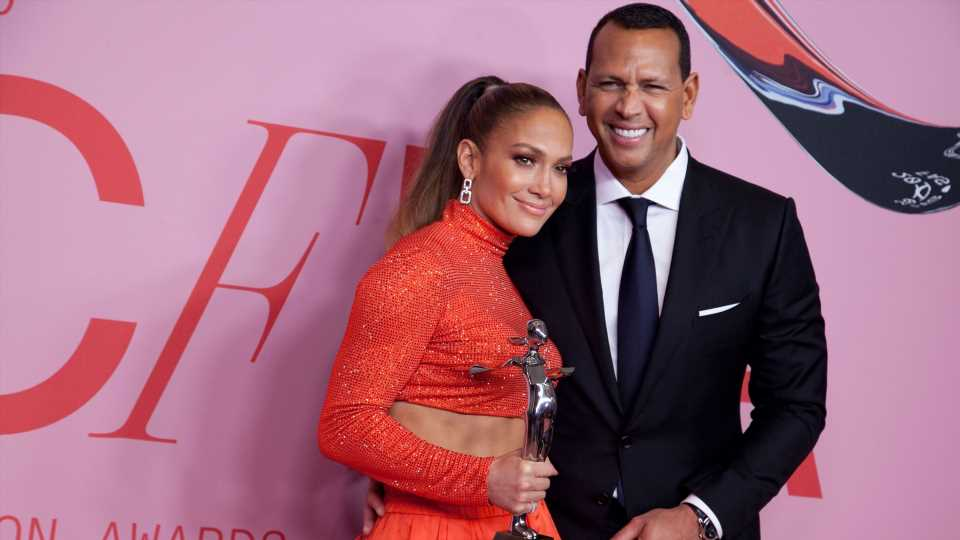 Jennifer Lopez Cried Watching Alex Rodriguez's 50th Birthday Tribute to Her