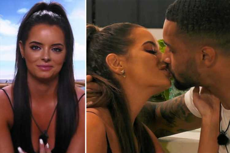 Love Island's Maura Higgins gushes over passionate snog with footballer Dennon