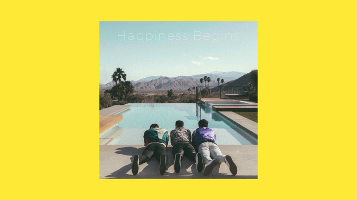 Album Review: The Jonas Brothers' 'Happiness Begins'