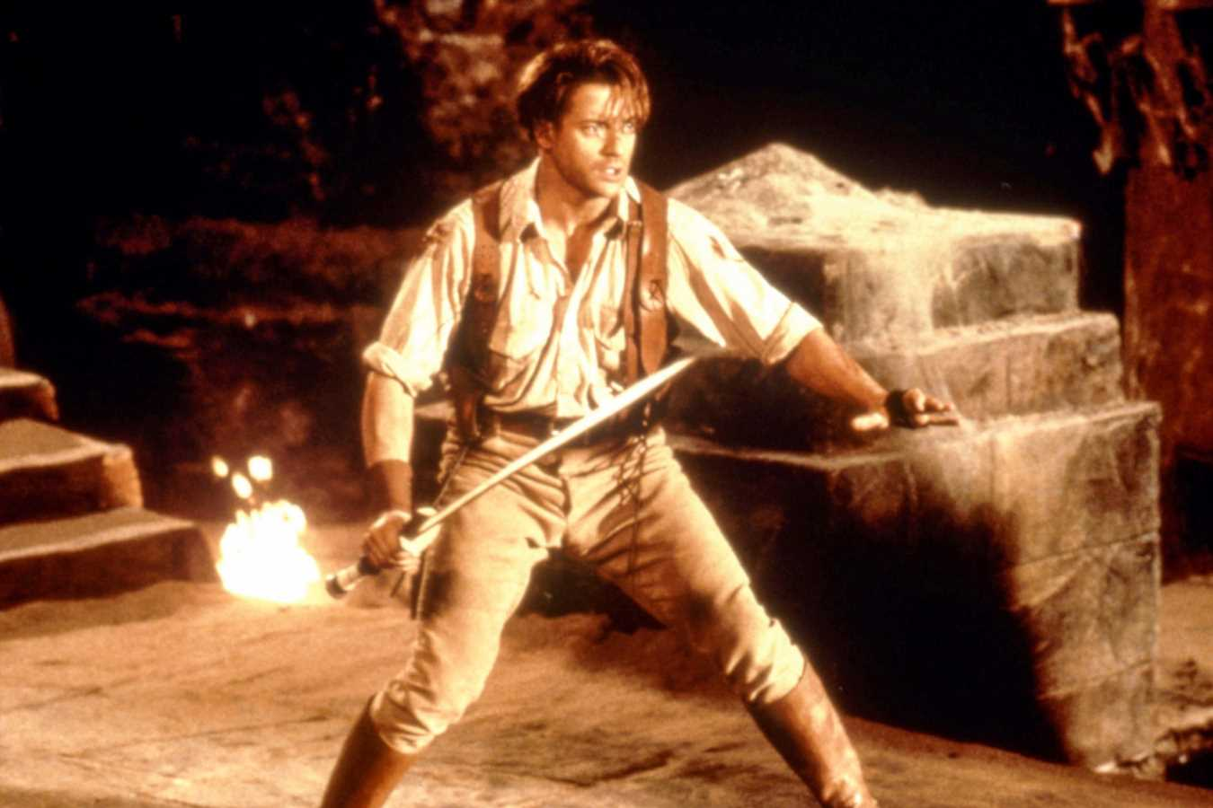 Brendan Fraser got 'fully choked-out' shooting 'The Mummy'
