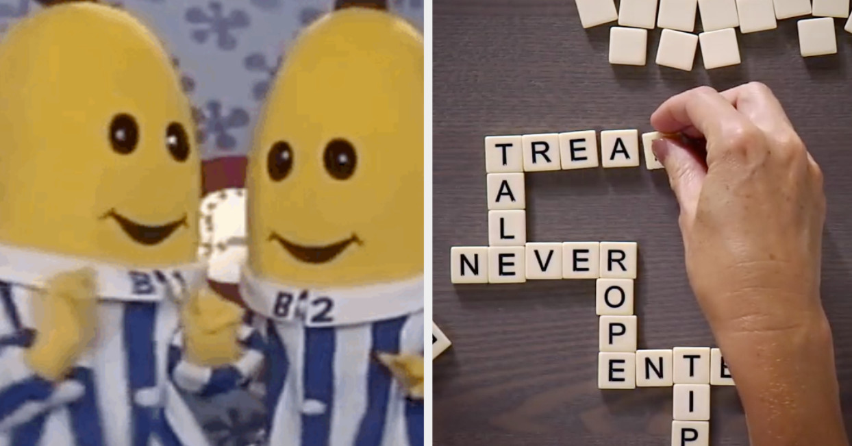 Y'all, If Bananagrams Isn't A Staple In Your Game Night, IDK What You're Even Doing