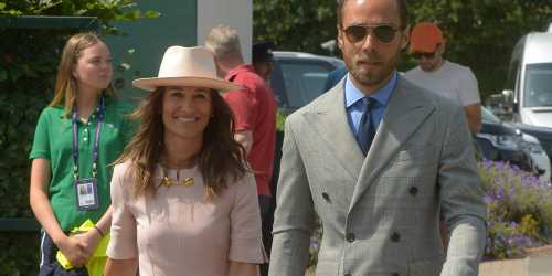 Pippa Middleton Is Pretty in Pink at Wimbledon 2019!
