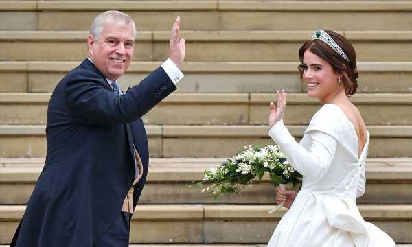 Prince Andrew shares photo from Princess Eugenie's wedding for this special reason