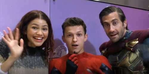 Tom Holland Does Backflips For Fans During 'Spider-Man: Far From Home' Cast Visit To Children's Hospital