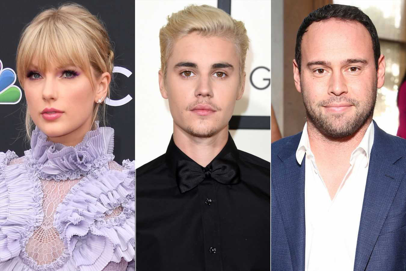 Justin Bieber Defends Scooter Braun After Taylor Swift Accuses Manager of 'Bullying' Her