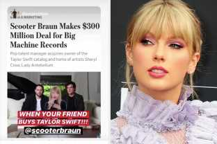"""Scooter Braun Bragged About """"Buying"""" Taylor Swift Before The Drama Kicked Off, And It's Infuriated Fans"""