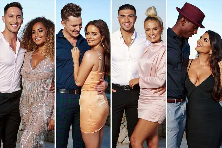 Love Island couples scrub up in dapper outfits ahead of tonight's brutal £50k grand final – The Sun