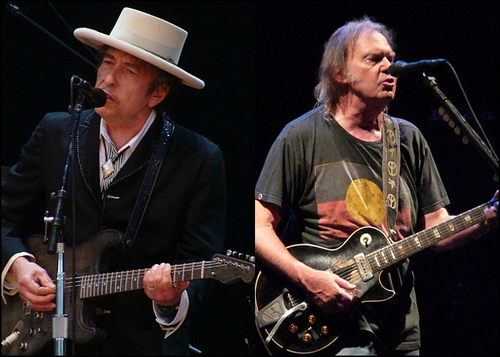 Bob Dylan, Neil Young Perform First Duet In 25 Years