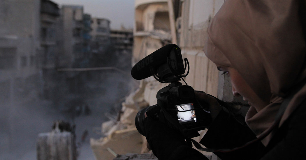 'For Sama' Review: Out of Besieged Aleppo, a Documentary