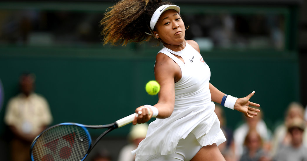 Wimbledon 2019: Naomi Osaka Loses in the First Round