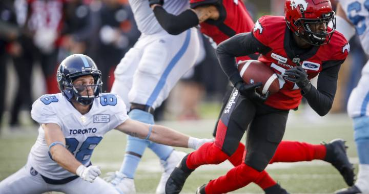 Calgary Stampeders bounce back with 26-16 win over Toronto Argonauts