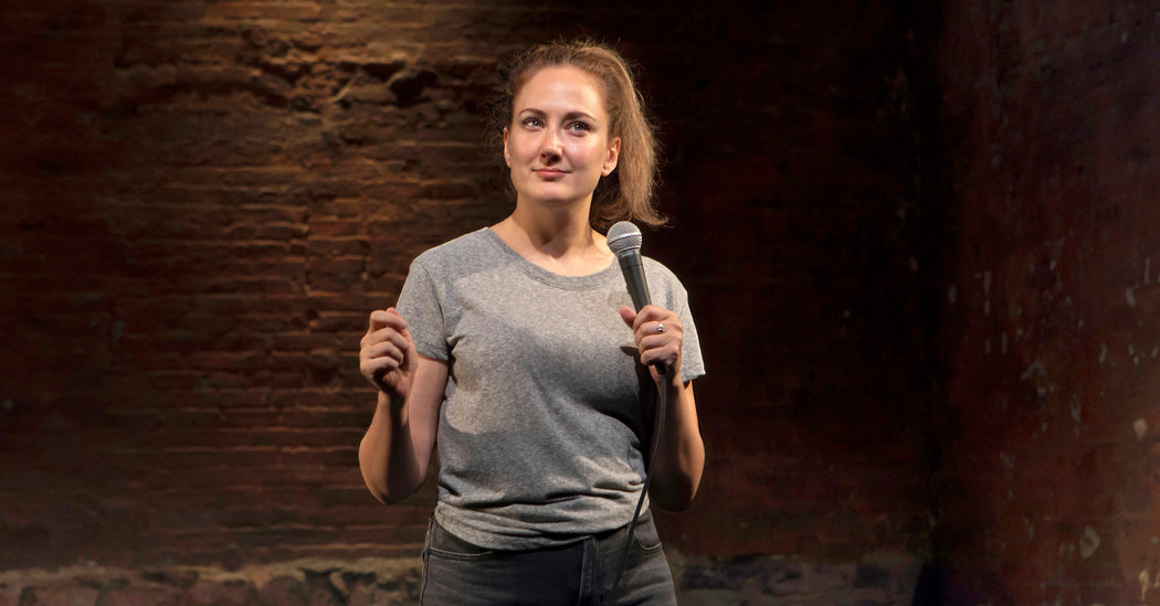 Review: In 'Get on Your Knees,' a Comedian Goes There