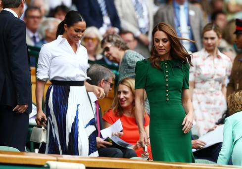 Kate and Meghan showcase contrasting signature styles at Wimbledon women's singles final