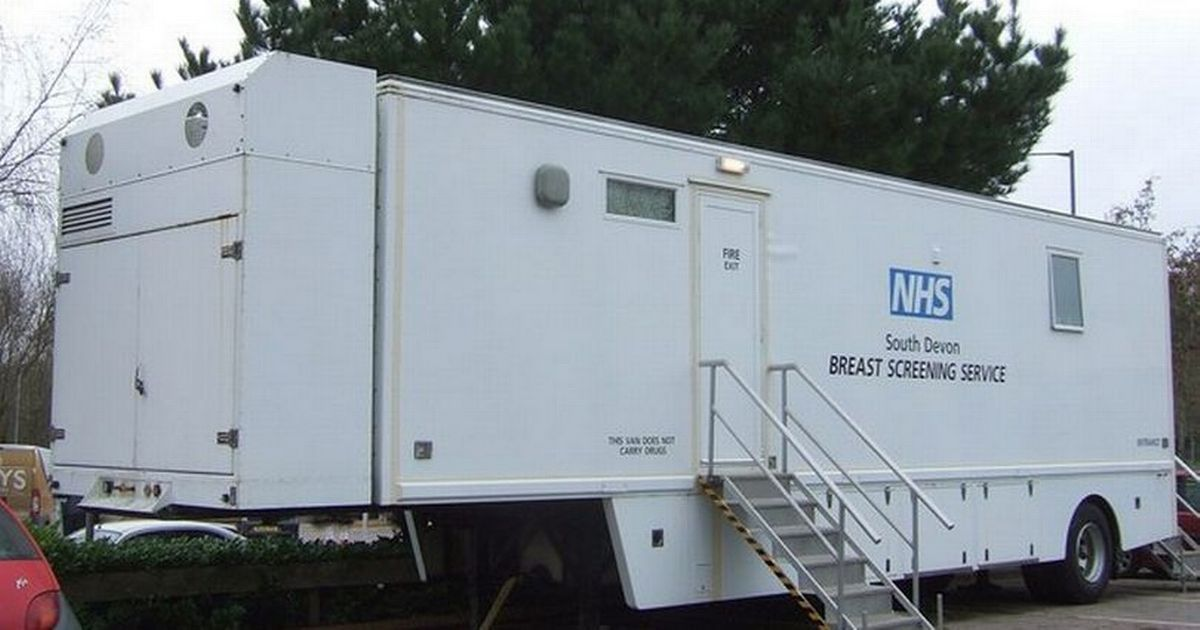 Council charge breast cancer screening van £1,500 to see patients in car park