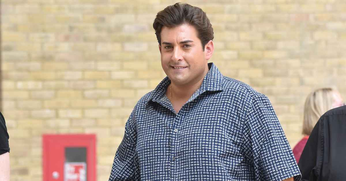 James Argent reveals he's the heaviest he's ever been at 24 stone and admits he could die if he doesn't slim down