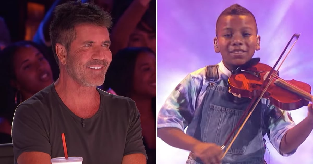 AGT: This Young Cancer Survivor Deserves All of Simon Cowell's Praise After His Violin Cover