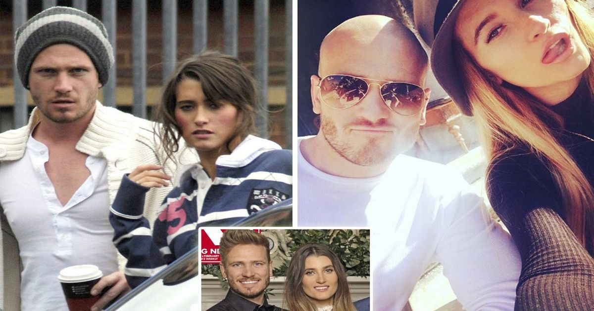 Matthew Wolfenden and Charley Webb's relationship following the birth of their third child Ace: from their surprise wedding and split to family life and children