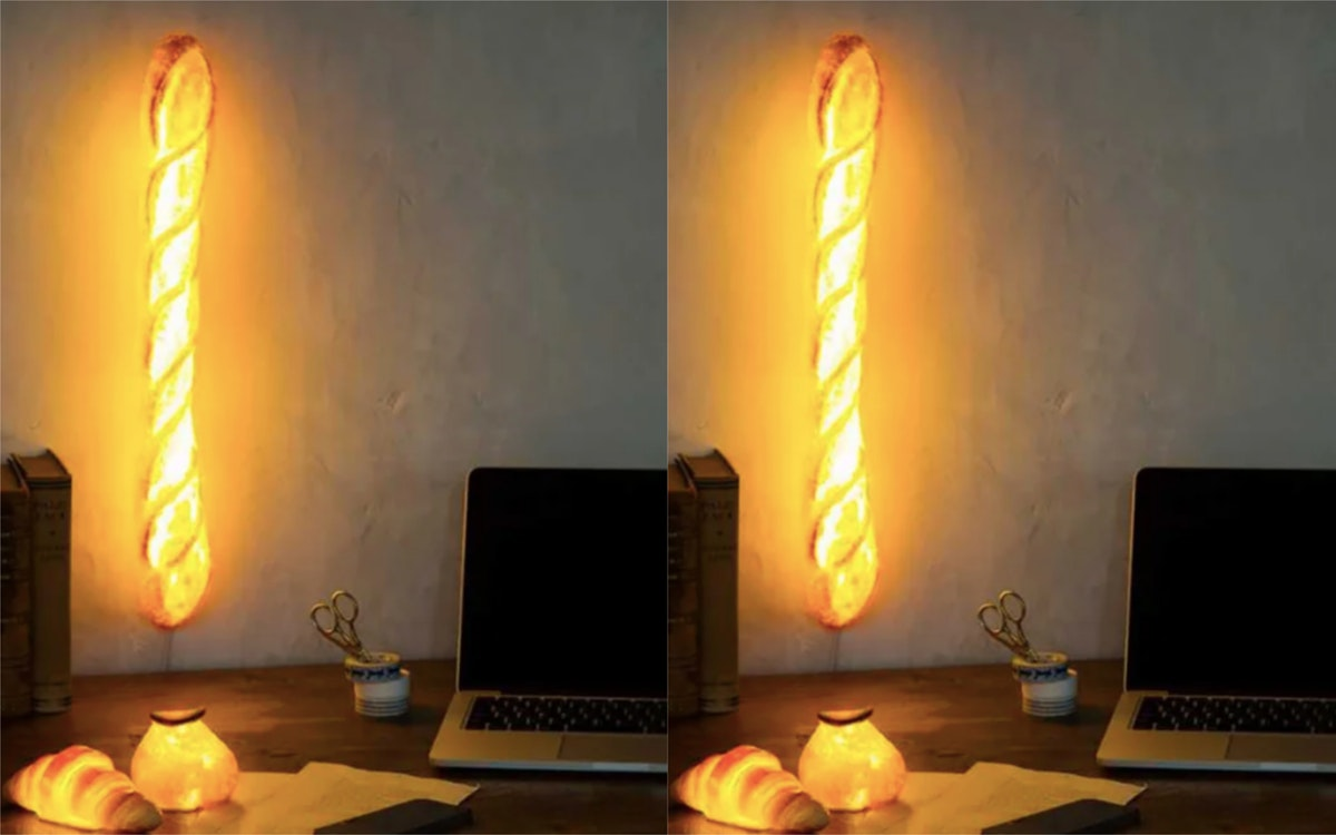 This Baguette Will Light Up Your Room & Your Heart